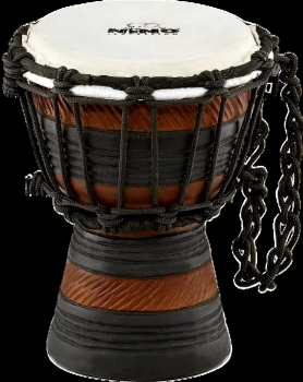 "Earth Rhythm Series Djembe 4 1/2 "" Braun / Schwarz"