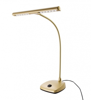 K&M 12297 LED Pianoleuchte Gold