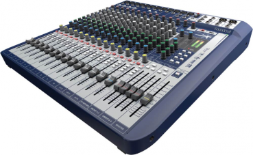 Soundcraft Signature 16 Mischpult mit Lexicon Effekten