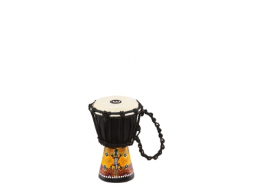 "Meinl Percussion African Style Mini Djembe Gecko Design 4 1/2"" x 8"""