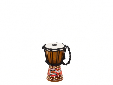 "Meinl Percussion African Style Mini Djembe Python Design 4 1/2"" x 8"""