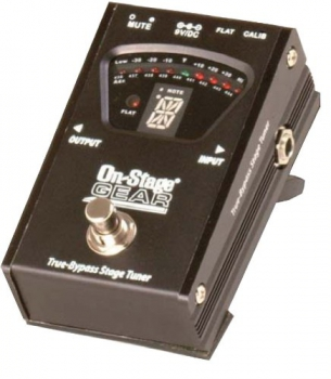 On Stage GTA-7800 Pedal Tuner Bodentuner