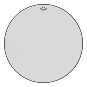 REMO Ambassador Smooth White Bass Drumhead, 28""