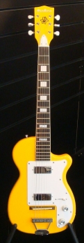 Eastwood Airline H44 DLX  E-Gitarre Taxicab Yellow