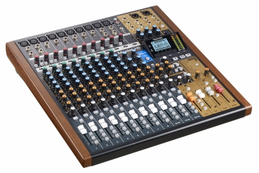 Tascam Model 16 14-Kanal-Analogmischpult mit digitalem 16-Spur-Recorder