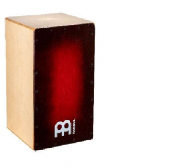 Snarecraft 100 Cajon Almond Red Burst