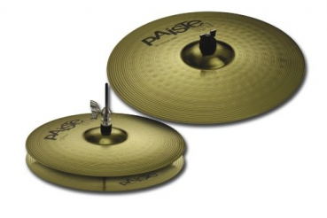 "Paiste Beckenset 101 14"" HH 18"" CR Brass Essential"
