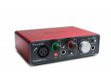 Focusrite Scarlett Solo USB Audiointerface