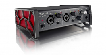 TASCAM US-2X2HR Hochauflösendes USB-Audio-/MIDI-Interface