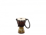 "Meinl Percussion African Style Mini Djembe Dark Serpent Design 4 1/2"" x 8"""