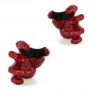 GuitarGrip Red Metallic Male Hand Gitarrenhalter Rechts